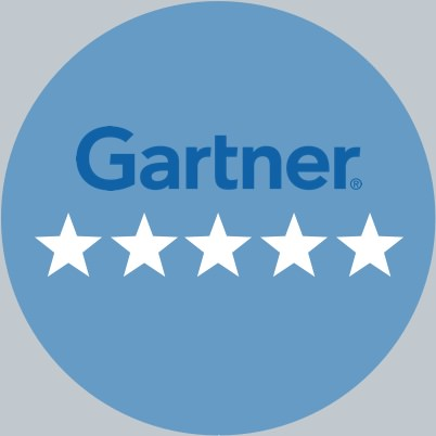 Gartner: Five Star Rating