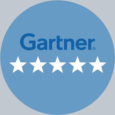 Gartner: Five Star Rating