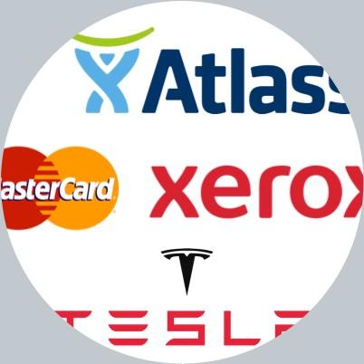 Sample of company logos