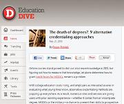 EducationDive screenshot