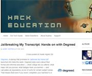 hack education screenshot