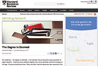 Harvard Business Review screenshot