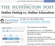 Huffington Post screenshot