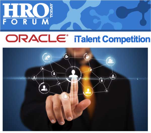 Oracle iTalent Competition screenshot