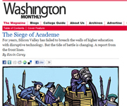 Washington Monthly screenshot