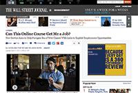 The Wall Street Journal screenshot